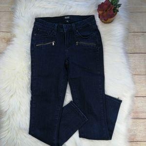 PAIGE Jane Zip Crop Jeans Size 25